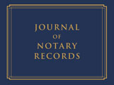 Notary Supplies - Notary Journal