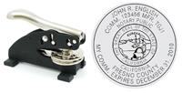 DM1 - DM1:Desk-Top Seal Embosser 1-5/8`