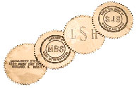 RM300 - Gold Embossing Labels - Box of 40