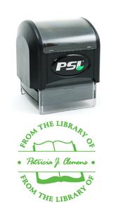 """PSI4141 - PSI 4141<br>1-5/8"""" x 1-5/8"""" Pre-Inked Monogram Stamp (2)"""