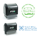 PSI Monogram and Address Stamps