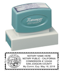N18CANOTARY - N18 California Notary Stamp